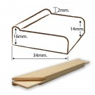 Stretcher Standard x14in