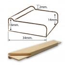Stretcher Standard x34in
