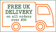 Free Delivery over 50GBP